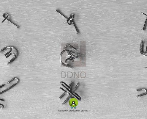 محصولات دیدینو-بازی فکری فلزی