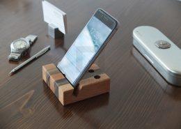 پایه گوشی تلفن و خودکار