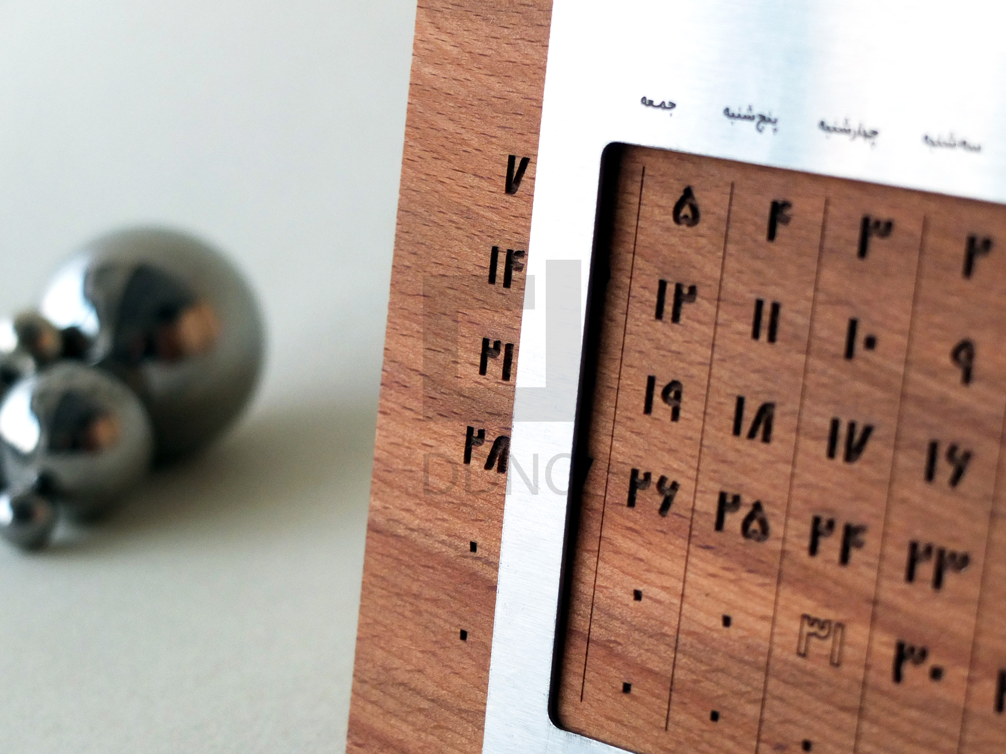 هدیه تبلیغاتی چوبی